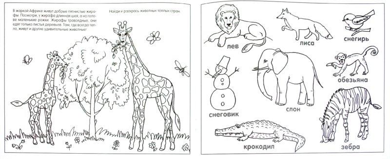 Иллюстрация 1 из 16 для Умные раскраски. Животные - Елена Янушко | Лабиринт - книги. Источник: Лабиринт
