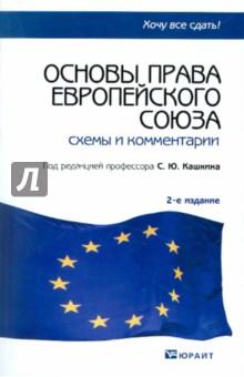 """...схем с комментариями, раскрывающими основные темы программы курса  """"Право Европейского Союза """"..."""