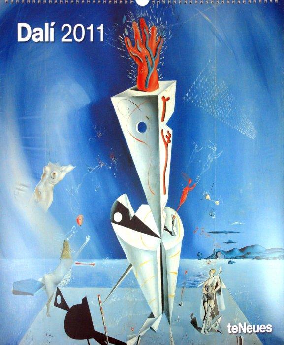"""Иллюстрация 1 из 2 для Календарь 2011 """"Дали"""" (4416-8)   Лабиринт - сувениры. Источник: Лабиринт"""