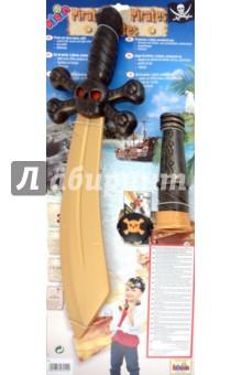 Игрушка- набор пирата из 3 предметов с саблей (7254)