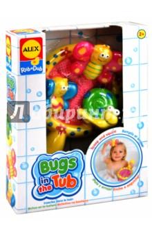 """Игрушки для ванны """"Поймай бабочку"""" (695W) ALEX"""