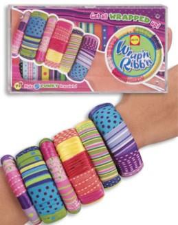 Иллюстрация 1 из 2 для Модные браслеты пластмассовые + тесьма от 8 лет (125W)   Лабиринт - игрушки. Источник: Лабиринт