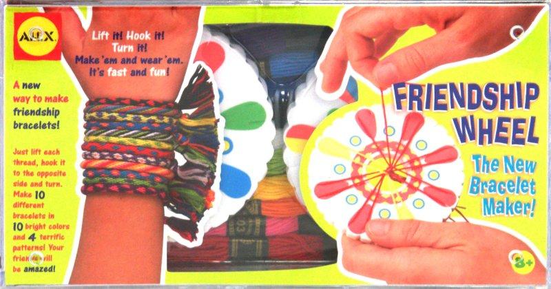 Иллюстрация 1 из 2 для Фенечки из цветных шнуров (в наборе 10 штук + станок) (137W) | Лабиринт - игрушки. Источник: Лабиринт