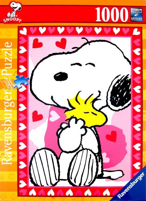 """Иллюстрация 1 из 6 для Пазл-1000 """"Snoopy"""" (151912)   Лабиринт - игрушки. Источник: Лабиринт"""