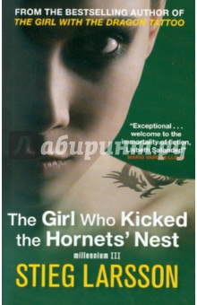 The Girl Who Kicked the Hornets NestХудожественная литература на англ. языке<br>The stunning third and final novel in Stieg Larsson s internationally best-selling trilogy<br>Lisbeth Salander-the heart of Larsson s two previous novels-lies in critical condition, a bullet wound to her head, in the intensive care unit of a Swedish city hospital. She s fighting for her life in more ways than one: if and when she recovers, she ll be taken back to Stockholm to stand trial for three murders. With the help of her friend, journalist Mikael Blomkvist, she will not only have to prove her innocence, but also identify and denounce those in authority who have allowed the vulnerable, like herself, to suffer abuse and violence. And, on her own, she will plot revenge-against the man who tried to kill her, and the corrupt government institutions that very nearly destroyed her life.<br>Once upon a time, she was a victim. Now Salander is fighting back.<br>
