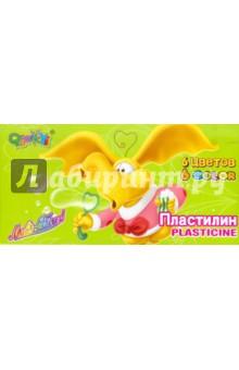 Пластилин восковой 6 цветов (1121)