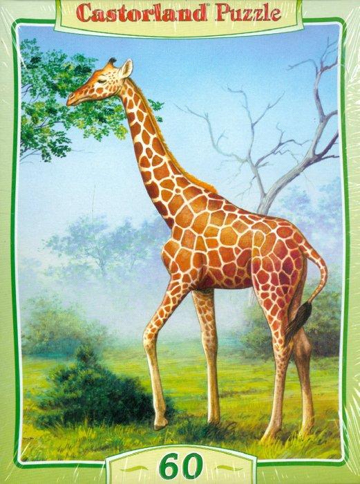 """Иллюстрация 1 из 2 для Puzzle-60. MIDI """"Жираф"""" (В-06397)   Лабиринт - игрушки. Источник: Лабиринт"""