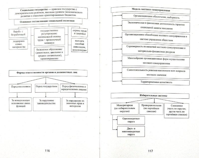 книги Обществознание в таблицах и схемах - Вильчинская, Домашек, Чагина. из 1 для.  1. Иллюстрация.