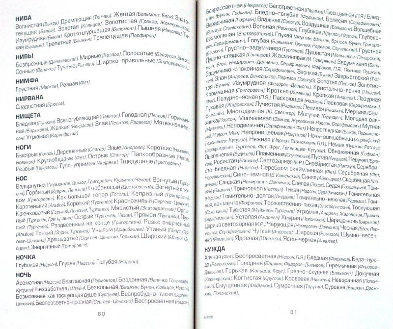 Иллюстрация 1 из 22 для Словарь литературных эпитетов - Александр Зеленецкий | Лабиринт - книги. Источник: Лабиринт