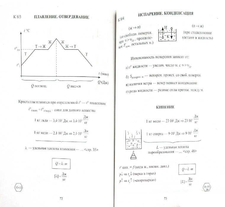 физика куперштейн марон опорные конспекты гдз