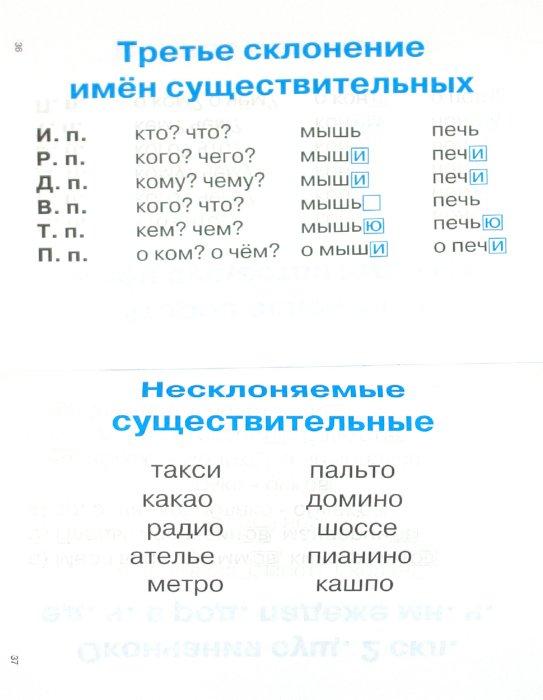 Иллюстрация 1 из 21 для Правила по русскому языку в таблицах. 1-4 классы | Лабиринт - книги. Источник: Лабиринт