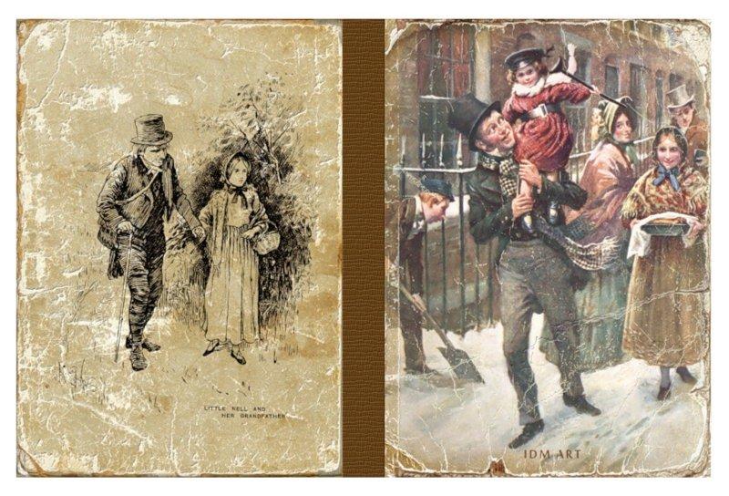 """Иллюстрация 1 из 19 для Блокнот для записей """"Диккенс""""   Лабиринт - канцтовы. Источник: Лабиринт"""