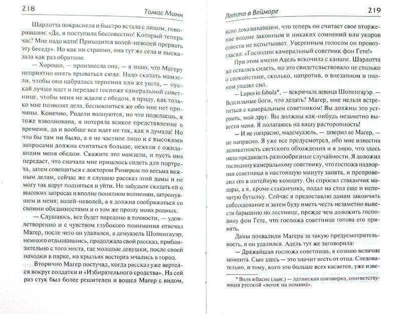 Иллюстрация 1 из 16 для Лотта в Веймаре - Томас Манн | Лабиринт - книги. Источник: Лабиринт