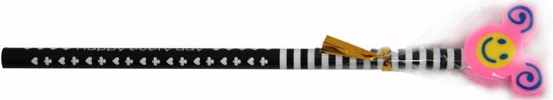 Иллюстрация 1 из 3 для Карандаш чернографитный с фигурным ластиком (ассортимент) (ZD-TOP) | Лабиринт - канцтовы. Источник: Лабиринт