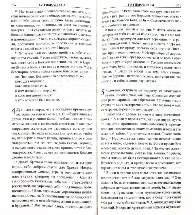 Иллюстрация 1 из 3 для Новый Завет. Псалтирь. Притчи: Современный русский перевод | Лабиринт - книги. Источник: Лабиринт