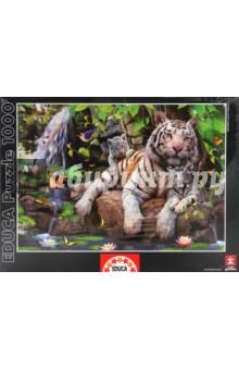 """Пазл-1000 """"Белые Бенгальские тигры"""" (14808)"""