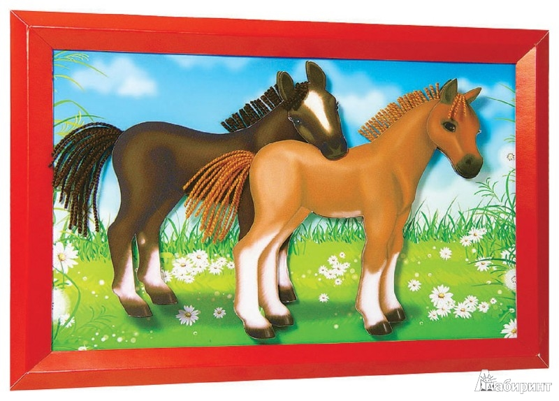 Иллюстрация 1 из 2 для Лошадки (АБ 24-502) | Лабиринт - игрушки. Источник: Лабиринт