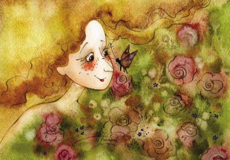 """Иллюстрация № 1 к товару """"Подружке на ушко"""", фотография, изображение, картинка"""