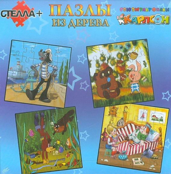 Иллюстрация 1 из 4 для Набор пазлов, 4 картинки по 20 деталей MIX (0938) (9200)   Лабиринт - игрушки. Источник: Лабиринт