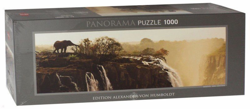 """Иллюстрация 1 из 11 для Puzzle-1000 """"Слон"""" A. von Humboldt (29287)   Лабиринт - игрушки. Источник: Лабиринт"""