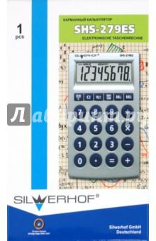 Калькулятор карманный SHS-279ES, 8-разрядный (601005-16)