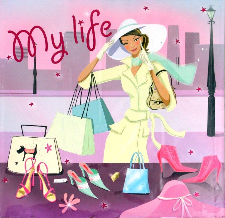 """Иллюстрация 1 из 10 для Фотокнига """"My life"""" (11635)   Лабиринт - сувениры. Источник: Лабиринт"""