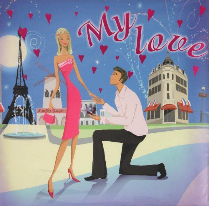 """Иллюстрация 1 из 9 для Фотокнига """"My Love"""" (11634)   Лабиринт - сувениры. Источник: Лабиринт"""