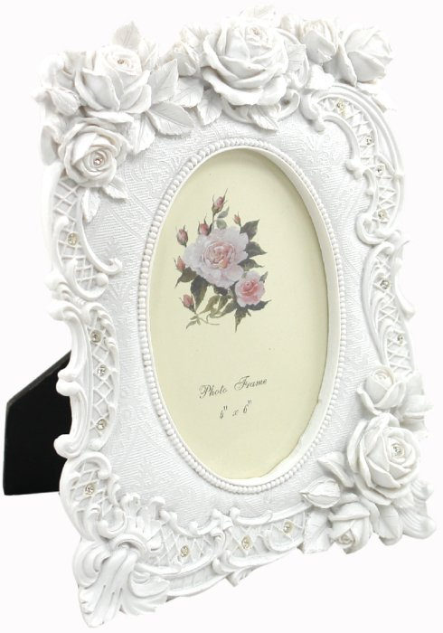 "Иллюстрация 1 из 6 для Фоторамка 10х15 см ""Oval white"" (LF07113-146W)   Лабиринт - сувениры. Источник: Лабиринт"