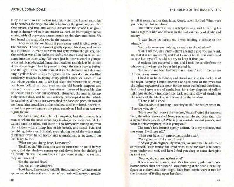 Иллюстрация 1 из 10 для The Hound of the Baskervilles - Arthur Doyle   Лабиринт - книги. Источник: Лабиринт