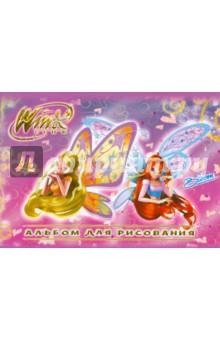 """Альбом для рисования 24 листа """"Winx"""" (55162)"""