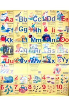 Английский алфавит и счет для младших школьников