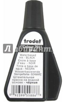 Краска штемпельная на водной основе, черная 7011 (220734) Trodat