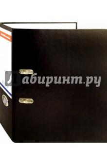 Папка-регистратор Стандарт (70 мм, черная) (222277)Папки-регистраторы<br>Папка-регистратор для хранения документов.<br>С арочным механизмом.<br>Ширина: 70 мм.<br>Цвет: черный<br>Сделано в России.<br>