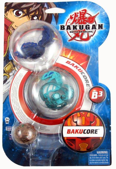Иллюстрация 1 из 3 для Набор Bakugan 3 штуки, стартовый (61321) | Лабиринт - игрушки. Источник: Лабиринт