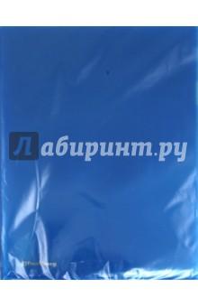 Папка-уголок. Синий (221642) Brauberg