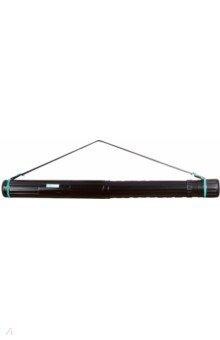 Тубус телескопический на ремне (черный, L700-1100mm)  (ПТ11)Тубусы<br>Тубус телескопический на ремне.<br>Цвет: черный. <br>Диаметр: 85 мм<br>Длина 630 - 1100 мм<br>Материал: пластик<br>Сделано в России<br>