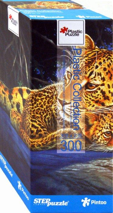 """Иллюстрация 1 из 10 для Step Puzzle-300 """"Леопарды"""" (98009)   Лабиринт - игрушки. Источник: Лабиринт"""