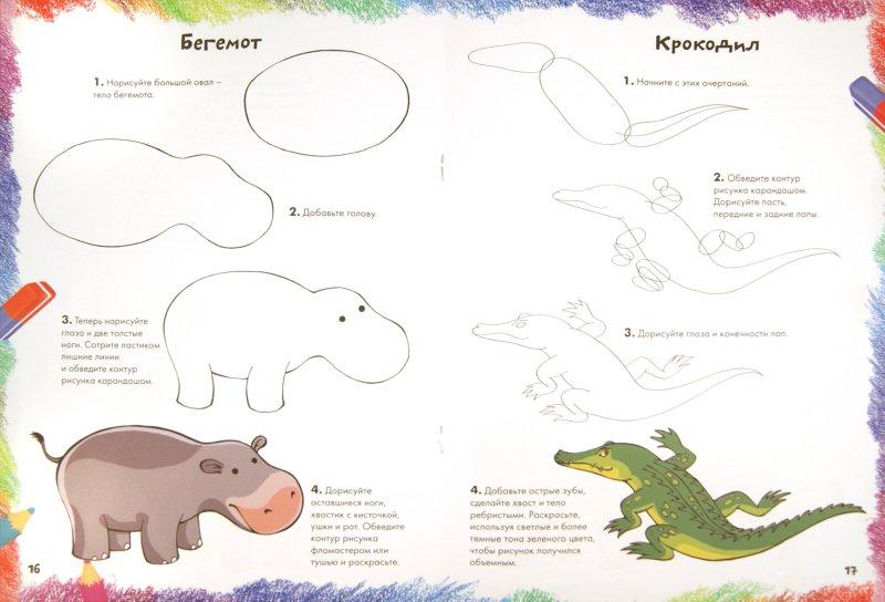 Иллюстрация 1 из 40 для Рисуем диких животных | Лабиринт - книги. Источник: Лабиринт