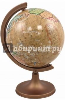 Глобус античный (коричневый) d 110мм Zachem