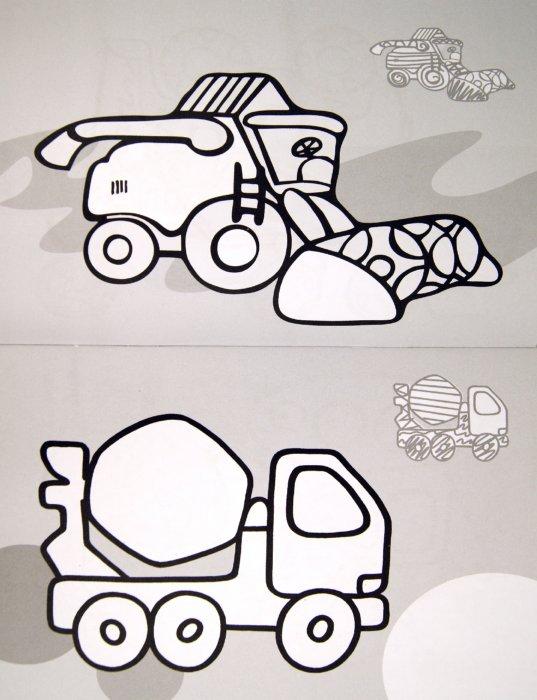Иллюстрация 1 из 5 для Транспорт: мигалки, стройка, деревня, город | Лабиринт - книги. Источник: Лабиринт