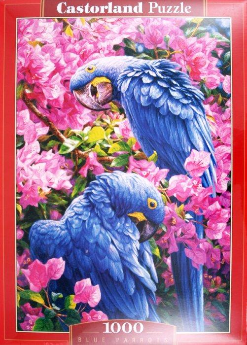 """Иллюстрация 1 из 5 для Puzzle-1000 """"Попугаи"""" (C-102242)   Лабиринт - игрушки. Источник: Лабиринт"""