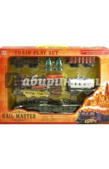 Железная дорога со звуком, светом и дымом (00812PY)