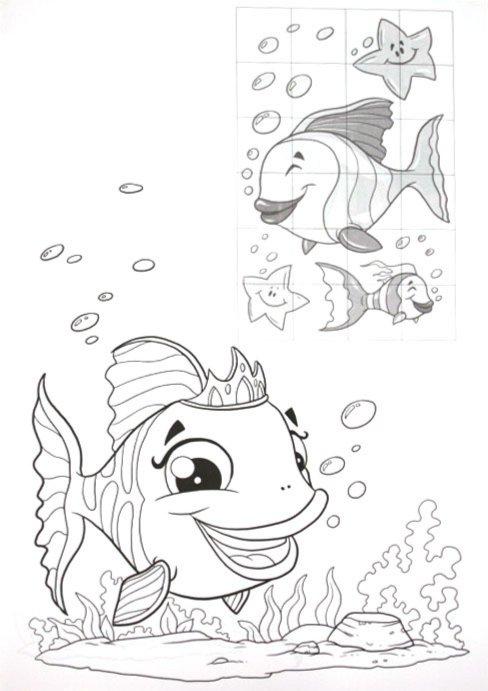 Иллюстрация 1 из 14 для Мозаика из наклеек. Морские жители | Лабиринт - книги. Источник: Лабиринт