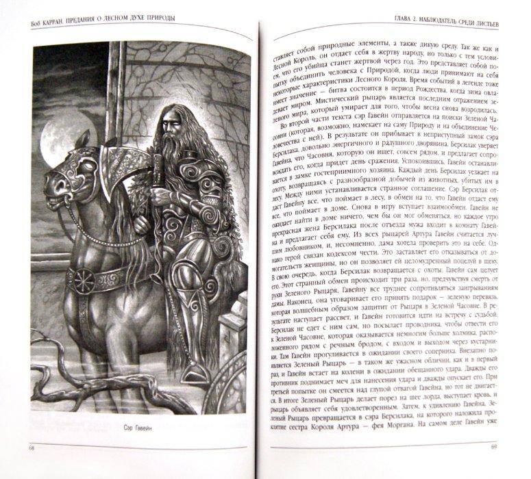 Иллюстрация 1 из 24 для Предания о лесном духе природы. Мифология кельтов - Боб Карран | Лабиринт - книги. Источник: Лабиринт