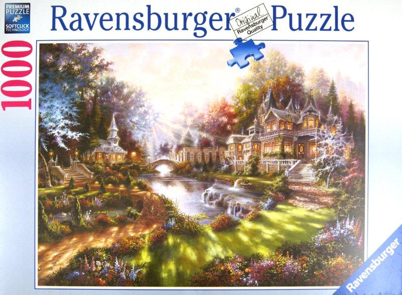 """Иллюстрация 1 из 2 для Пазл-1000 """"Утро в волшебном городе"""" (159444)   Лабиринт - игрушки. Источник: Лабиринт"""