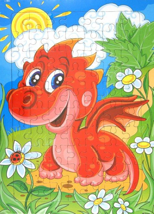 """Иллюстрация 1 из 4 для Развивающие рамки """"Дракончик"""" 70 элементов (2161)   Лабиринт - игрушки. Источник: Лабиринт"""