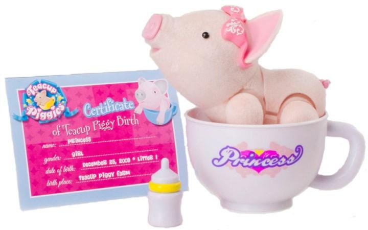 Иллюстрация 1 из 2 для Пигис-милашки в чайных чашках. Принсесс (23594) | Лабиринт - игрушки. Источник: Лабиринт