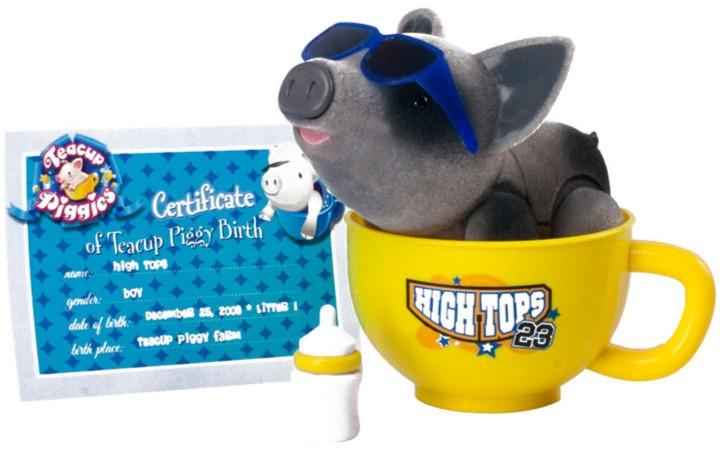 Иллюстрация 1 из 2 для Пигис-милашки в чайных чашках. Хайти (20294)   Лабиринт - игрушки. Источник: Лабиринт