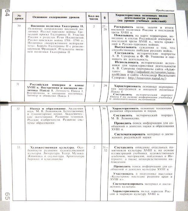 Развернутое календарно-тематическое планирование по истории для 9 класса автор данилов и косулина