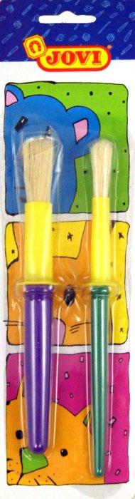 Иллюстрация 1 из 3 для Набор кистей 2 штуки, детские (8184) | Лабиринт - канцтовы. Источник: Лабиринт